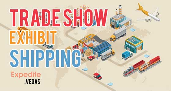 trade show exhibit shipping