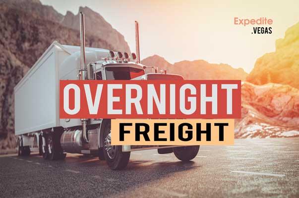 las vegas overnight freight