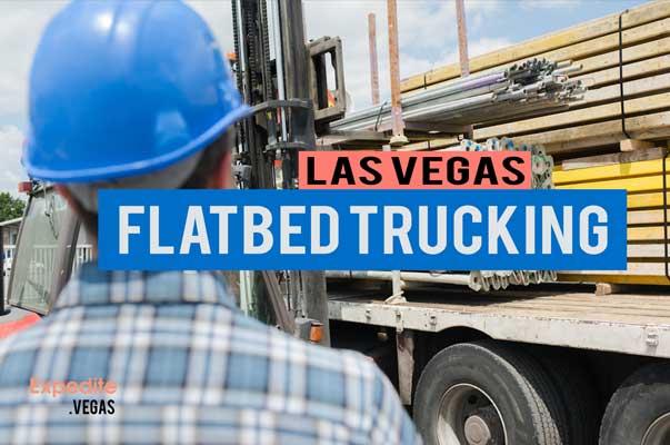 las vegas flatbed trucking